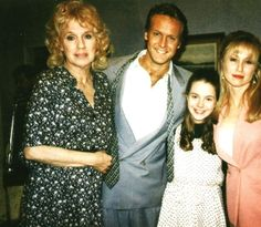 Mary Williams, Paul Williams, April Stevens  young Heather Stevens (Y  R)