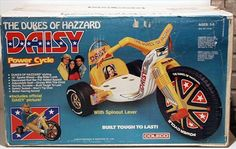 My sister and I each had one, and I ended up flipping mine going down a steep driveway and splitting my chin open!  Still good times!