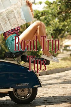 Road trip tips. Some of these I've thought about, but it's nice having them all in one place.