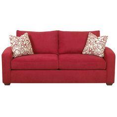 Fun Red Sofa.