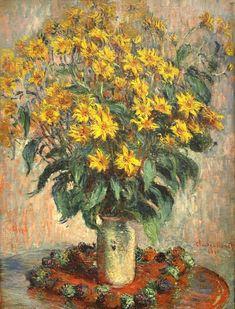Impresionismo: Claude Monet, Jerusalem Artichokes, 1880