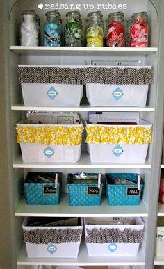 labeling baskets