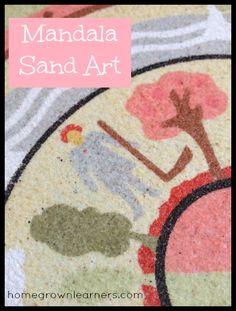 Mandala Sand Art Mini UnitStudy