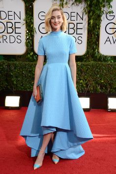 love. one of my favorite looks from #2014goldenglobes