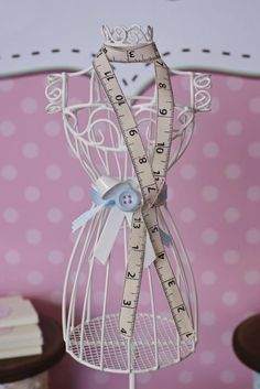 Cute as a Button 1st Birthday Party via Kara's Party Ideas | Kara'sPartyIdeas.com #Girl #Sewing #PartyIdeas #Supplies (6)