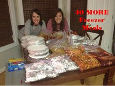 40 MORE healthy & affordable freezer meals