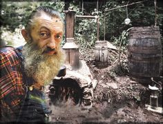 The legend - Popcorn Sutton http://howtomake-moonshine.com/