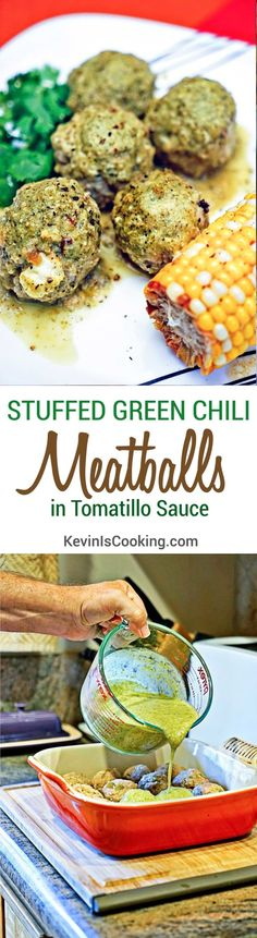 Stuffed Green Chili