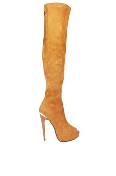 Luichiny Camel Case Closed   Camel Thigh High Boots   AKIRA