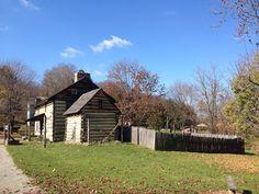The Tavern, Gaol and Kitchen Garden at #HistoricHannasTown #Greensburg #PA http://www.westmorelandhistory.org/hannastown/index.cfm