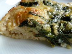 Spinach Pizza.