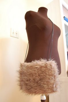 DIY Faux Fur Purse