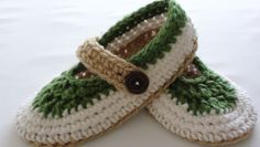 St. Patty Slapper Crochet Slippers FREE Pattern
