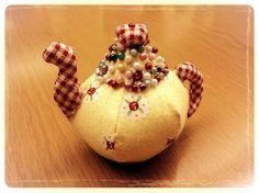 Teapot pincushion pdf | Sewn Up by TeresaDownUnder