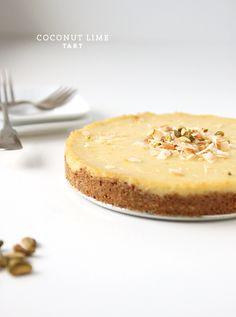 cocOnut lime tart