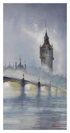 """London Fog"" by Thomas W Schaller"