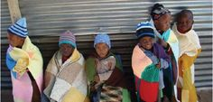 knitting/crocheting to comfort AIDS orphans in Africa