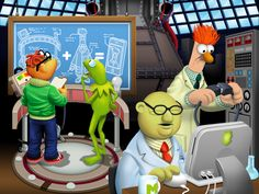 My Muppets Show app: It's free and it's awesome! iOS and Android.
