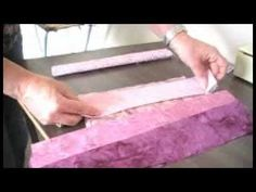 Bargello Quilting by ArbeeDesigns - YouTube