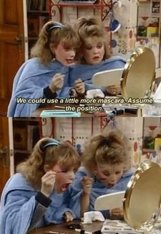 mascara, memori, houses, remember this, weight loss, the face, growing up, childhood, full house