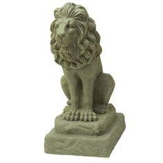 28 in. Guardian Lion Statue - HD  $61.98