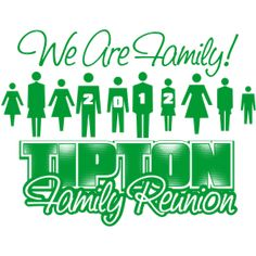 family reunion t-shirts | Tipton Family Reunion