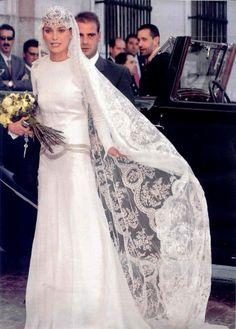 Laura Ponte y Martinez  Beltran Gomez-Acebo y de Borbon (nephew of King Juan Carlos I of Spain) :: September 18, 2004