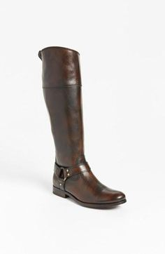 Knee high riding boots from Frye.