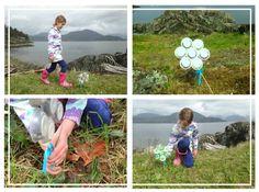 Children's Earth Day Crafts - single-serve coffee pod crafts