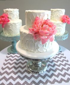the graceful baker...another great textured buttercream cake