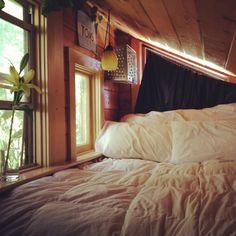 Sleeping nook.