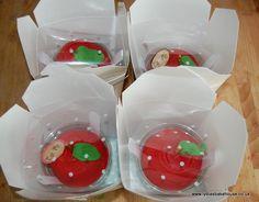 Apple for my teacher cupcakes