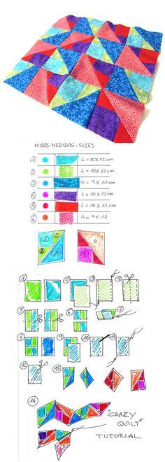 #patchwork #quilt #bloc