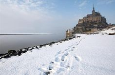 There's no denying the majesty of the setting of Mont Saint-Michel in Normandy, France.