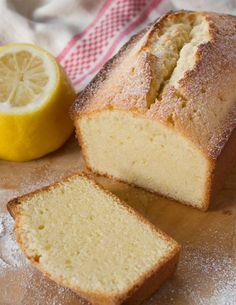 lemon-vanilla pound cake