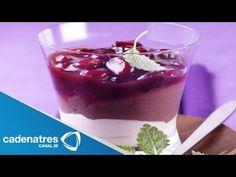 ▶ Receta de mousse de grand marnier con zarzamoras. Receta de mousse / Receta postres - YouTube