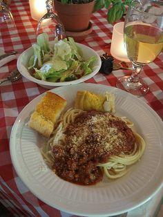 Spaghetti Dinner Ideas