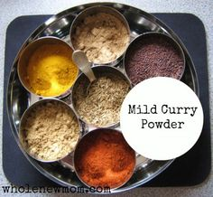 Mild Curry Powder - Whole New Mom