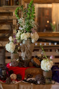 Country Wedding Ceneterpiece