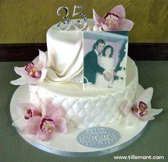 Gift Ideas 35th Wedding Anniversary : ... anniversaries cake 30th anniversaries 35th anniversaries 35th cake