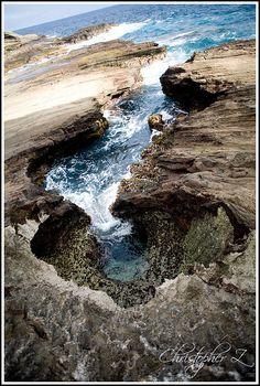 Lanai Lookout, Oahu, Hawaii