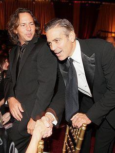 Eddie Vedder & George Clooney