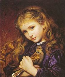 Sophie Gengembre Anderson (1823 – 10 March 1903). The Turtle dove
