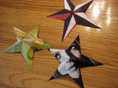 Nautical Paper Stars
