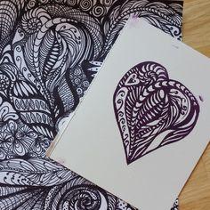 stamp carved by Renee Oler