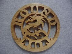 Cherry Dragon Trivet by dreamwvr81 on Etsy, $20.00