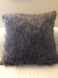 Faux Fur Pillow European Size Pillow