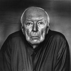 Jasper Johns by Irving Penn, USA