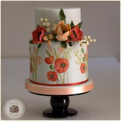Summer dream wedding cake