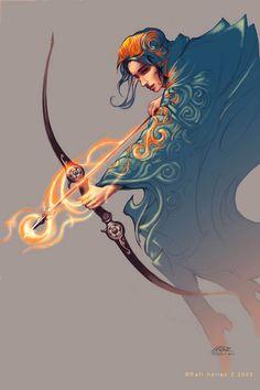 — erika the archer by rafi adrian zulkarnain